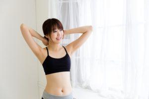 ホルモンバランスを整える女性