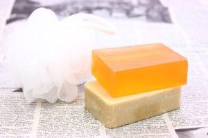 強い刺激が生じる石鹸